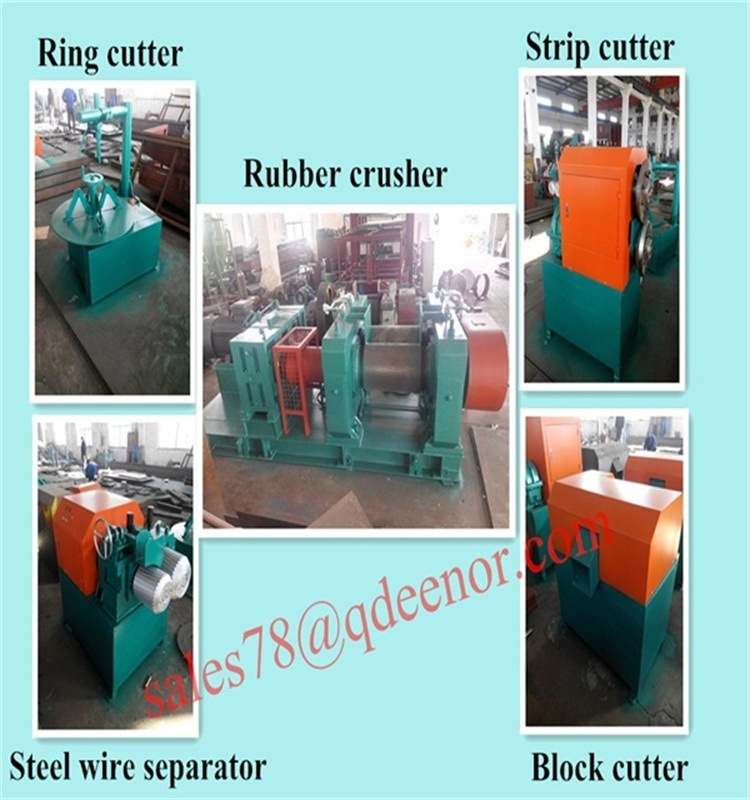 China Rubber Tiles Producing Machine/Rubber Fine Grinder Equipment ...