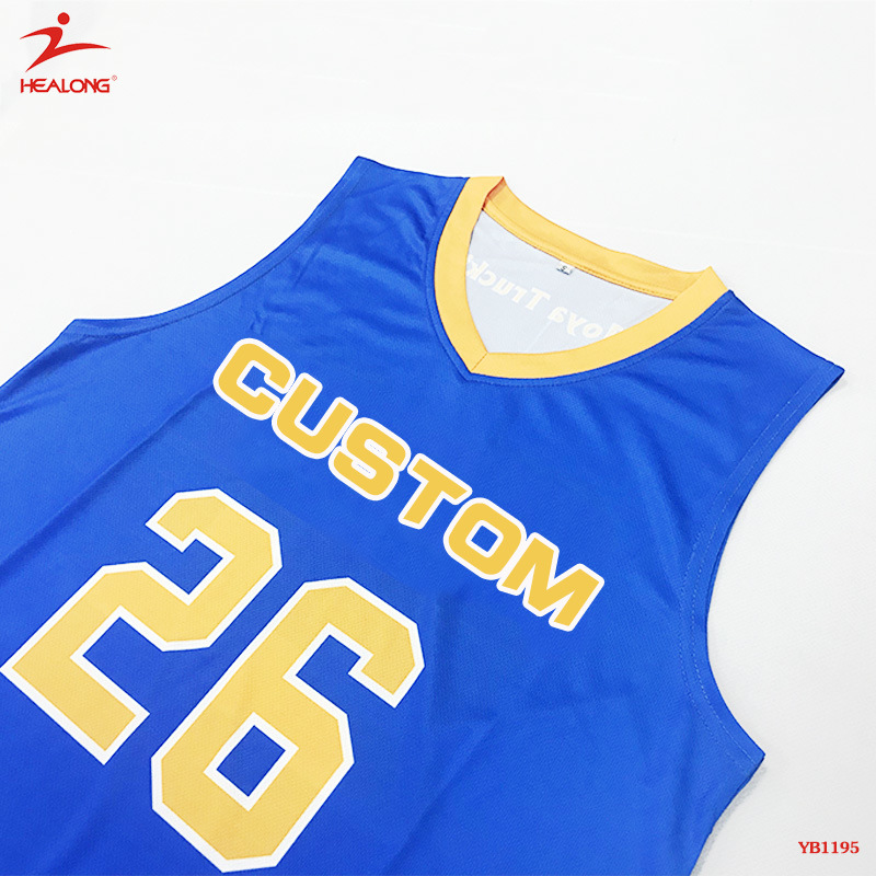 5e5bb941cb1e China Healong Full Dye Sublimation Basketball Jerseys Photos ...