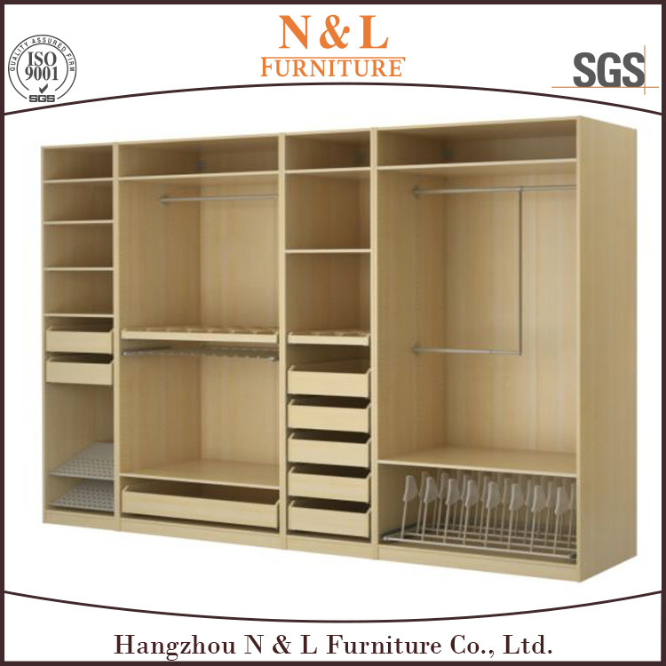 China Nl Bedroom Wooden Almirah Designs Sliding Wardrobe Photos