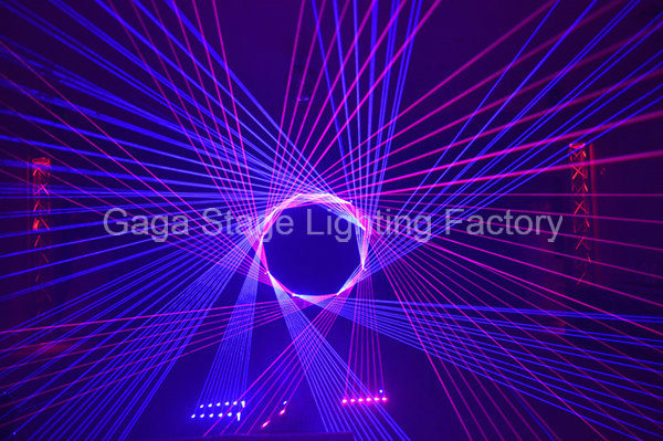 Economic Laser Projector RGB Laser Light for Stage Pub Wedding Disco pictures & photos