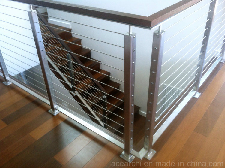 China Competitive Price Stainless Steel Cable Railing