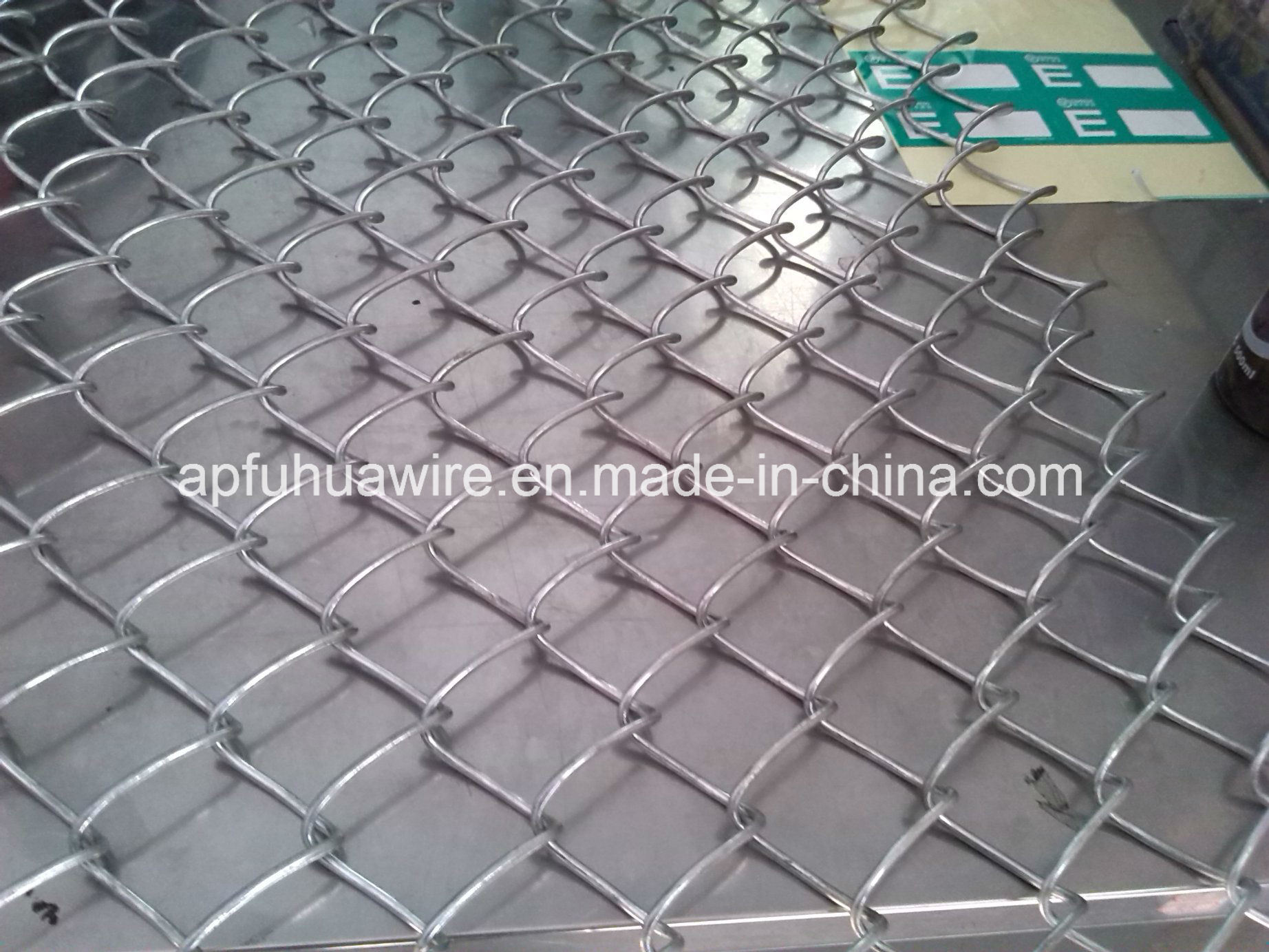 China Chain Link Fence Wire Mesh - China Chain Link Fence, PVC ...