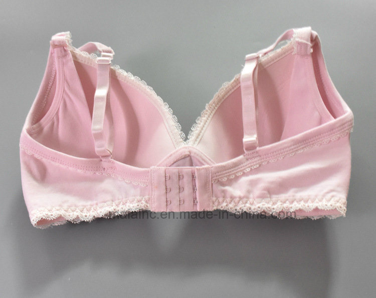 High Quality Ladies Cotton Maternity Bra pictures & photos