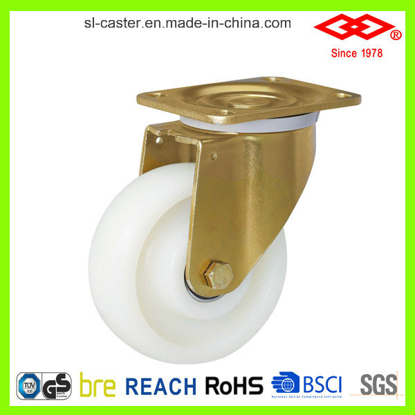 White Nylon Heavy Duty Castors (P160-20F125X50)