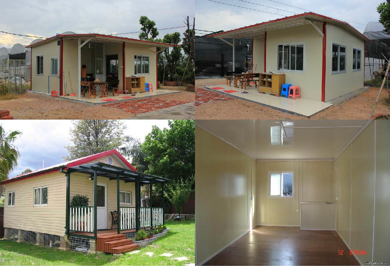 China affordable insulated good design residential family house for tanzania china house family house