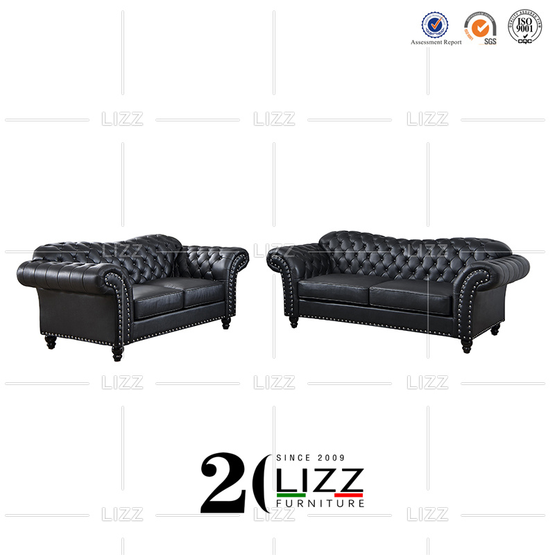 Chesterfield Furniture Genuine Leather