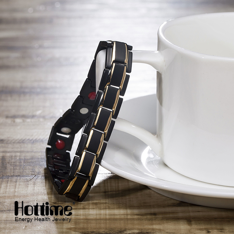Fashion Health Magnetic Stainless Steel Bracelets for Men pictures & photos