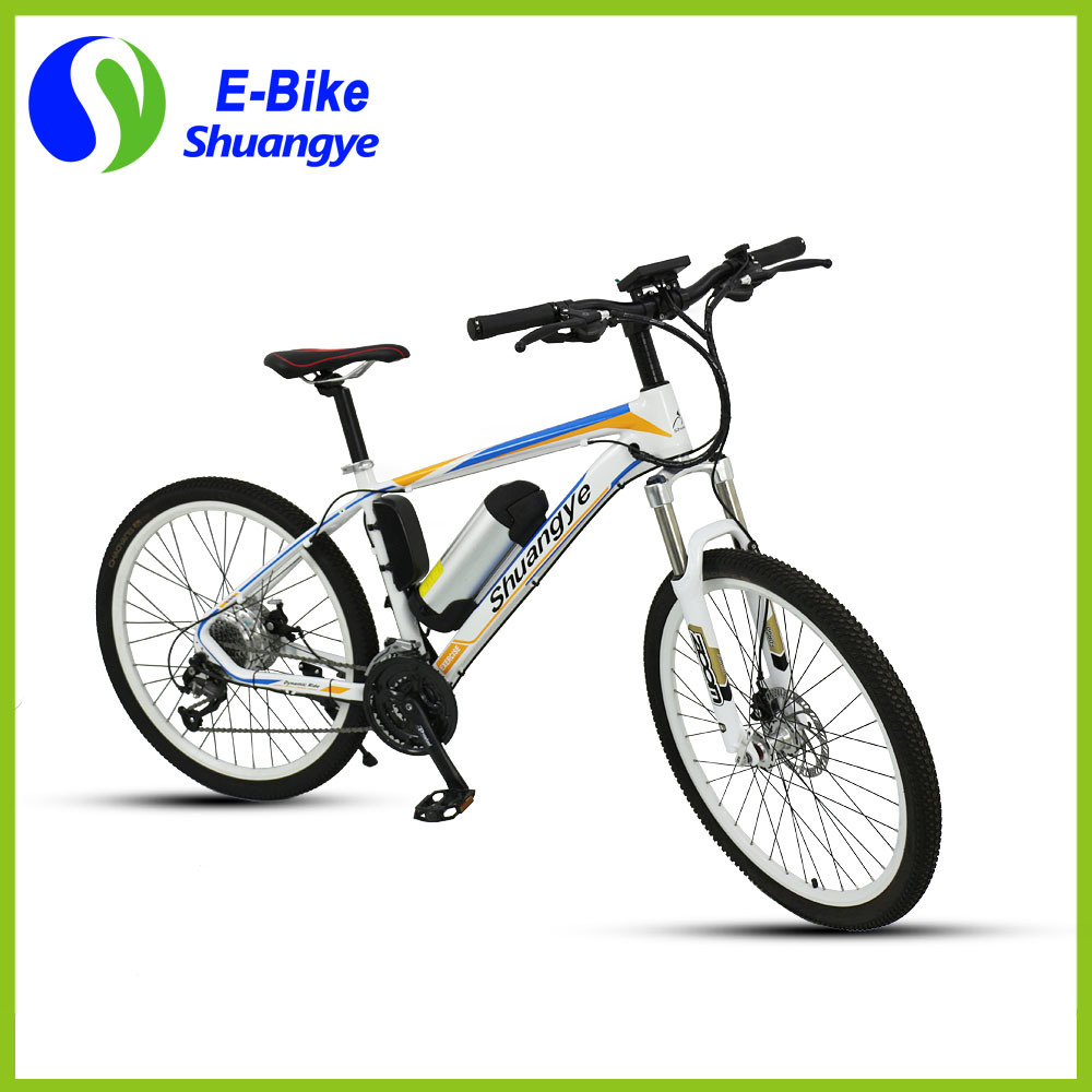 New Design 26 Inch Heterotype Tube Frame Mountain Electric Bike pictures & photos