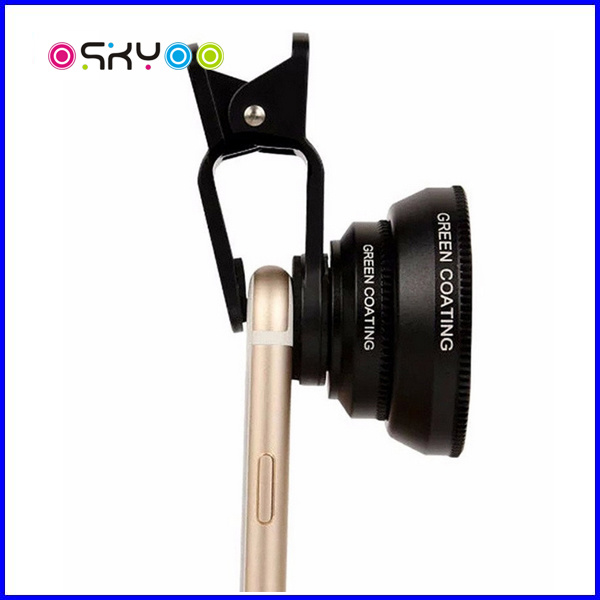 180 Degree Fisheye Mobile Phone Camera Lens pictures & photos