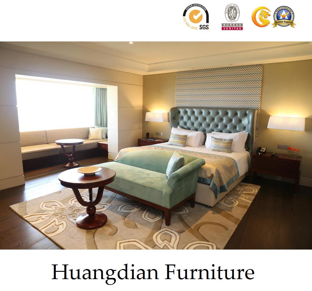 China Luxury European Style 5 Stars Hotel Bedroom Furnitures Hd006 Furniture