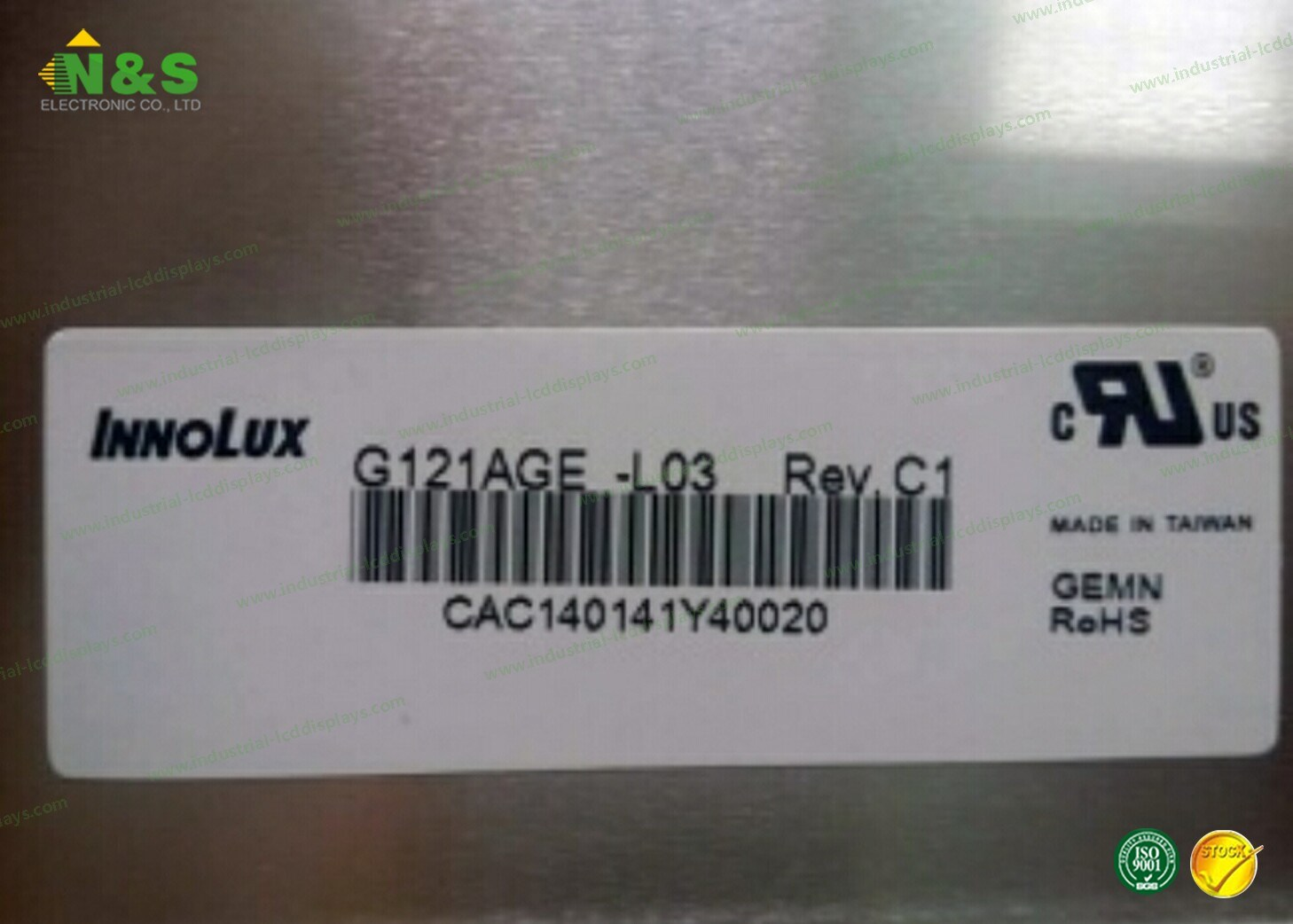 G121age-L03 12.1 Inch LCD Display Module pictures & photos