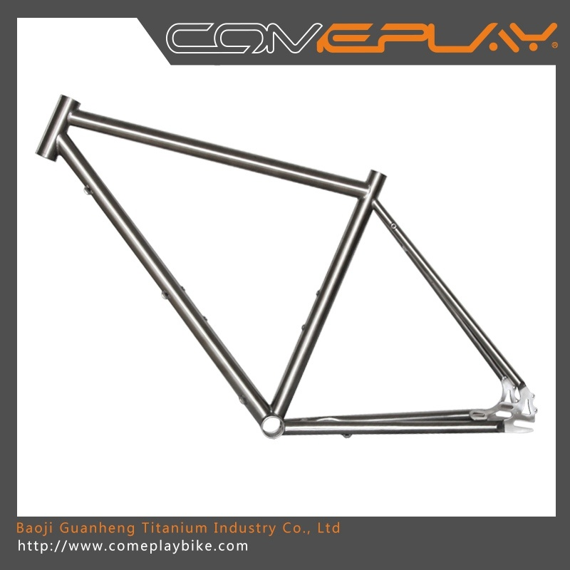 China Comeplay Titanium Single Speed Bike Frame Titanium Fixed Gear ...