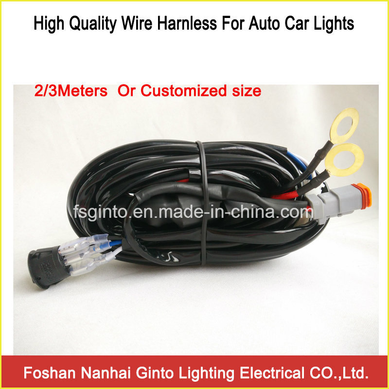 China Universal Wire Harness for Automotive Fog Lights - China LED ...