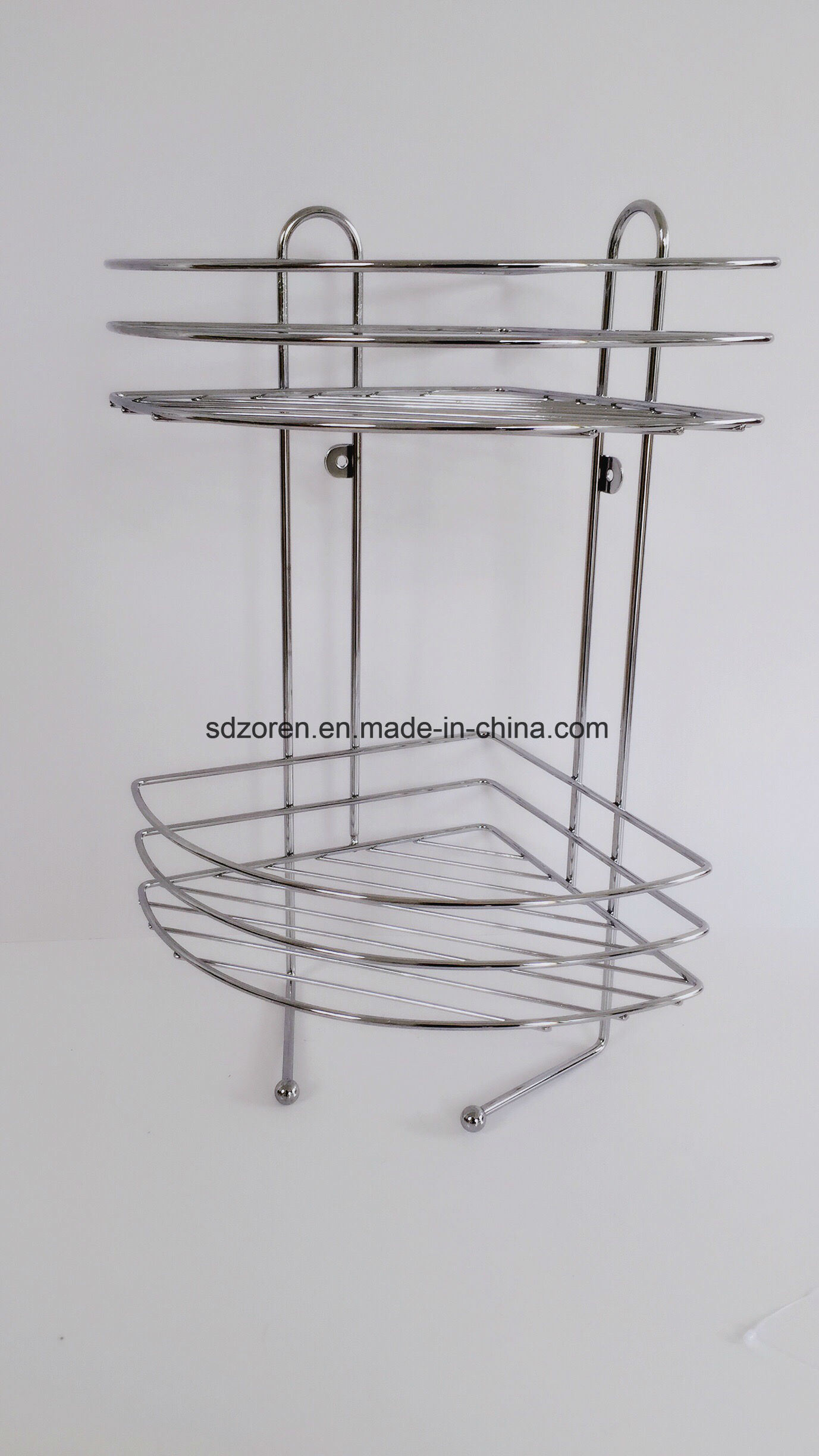 China Chrome-Plating Metal Wire Bathroom Hanging Shower Caddy ...