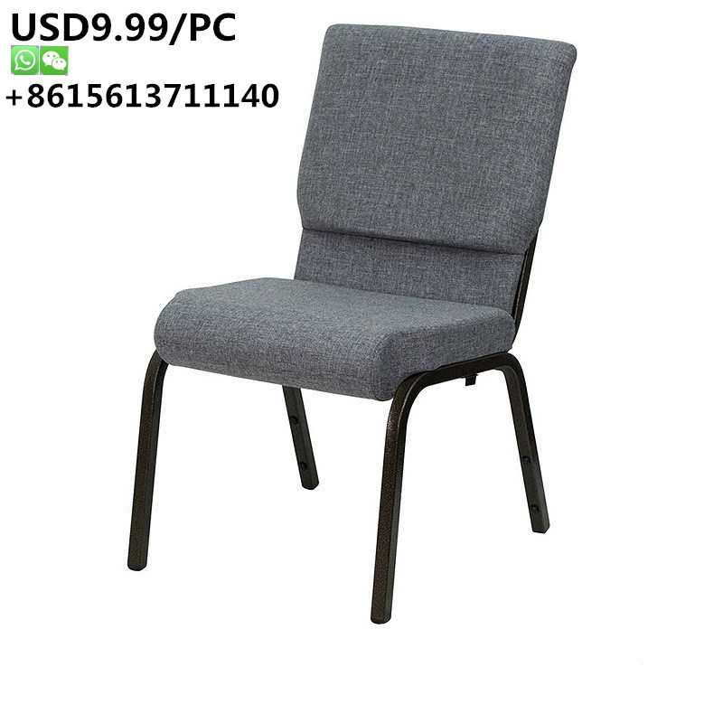 [Hot Item] Strong and Durable Stackable Auditorium Hotel Banquet Church  Chair
