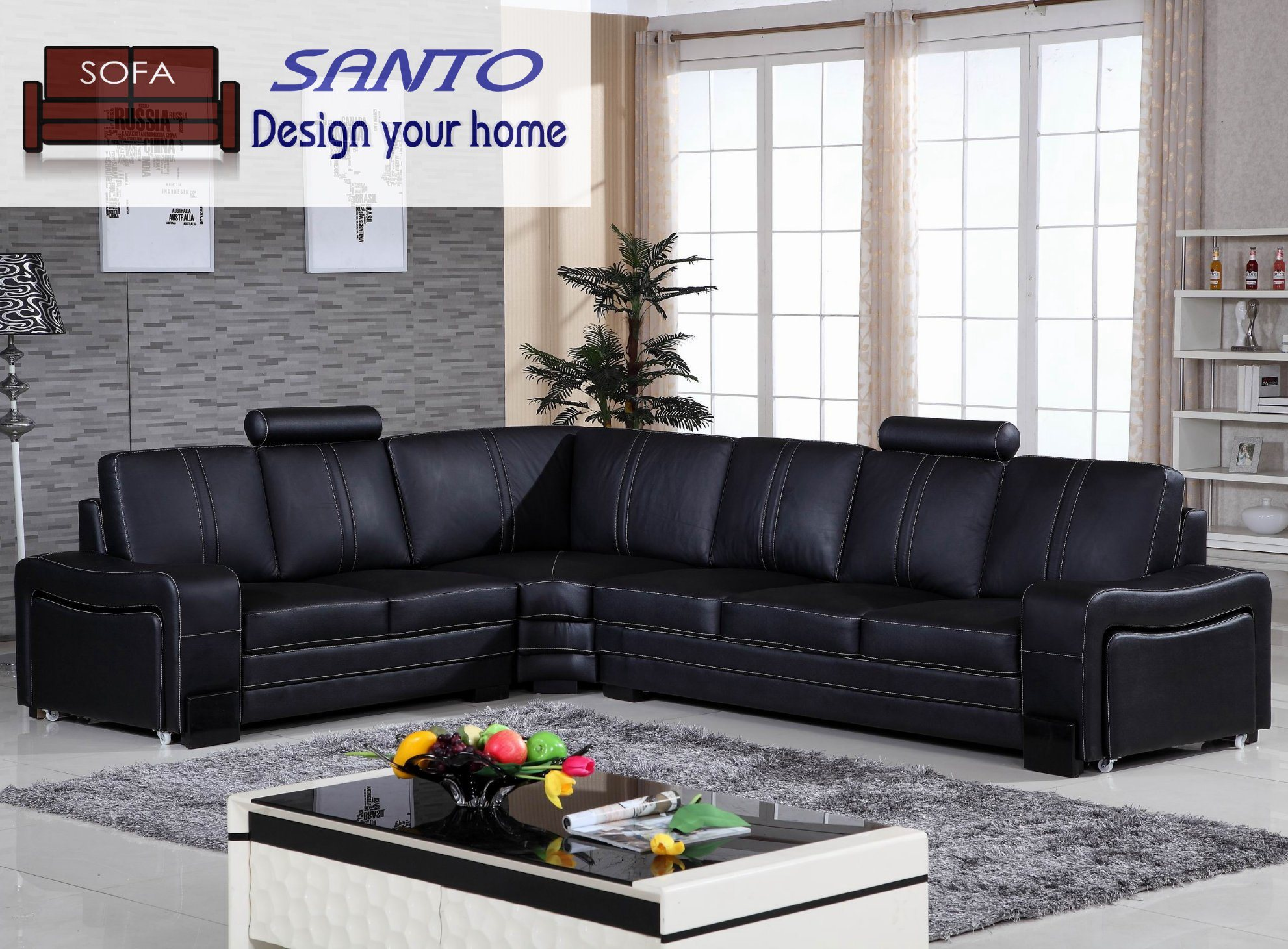 [Hot Item] Leather Sofa Set Living Room Furniture Living Room Furniture  Living Room Sofa Set Sectional Sofa Corner Leather Sofa Modern Sofa