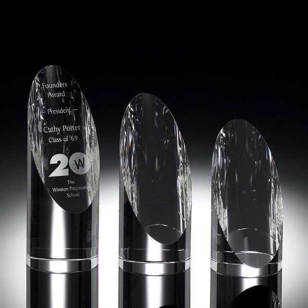 Standing Star Tower Crystal Award for Employee Trophies (#2028)