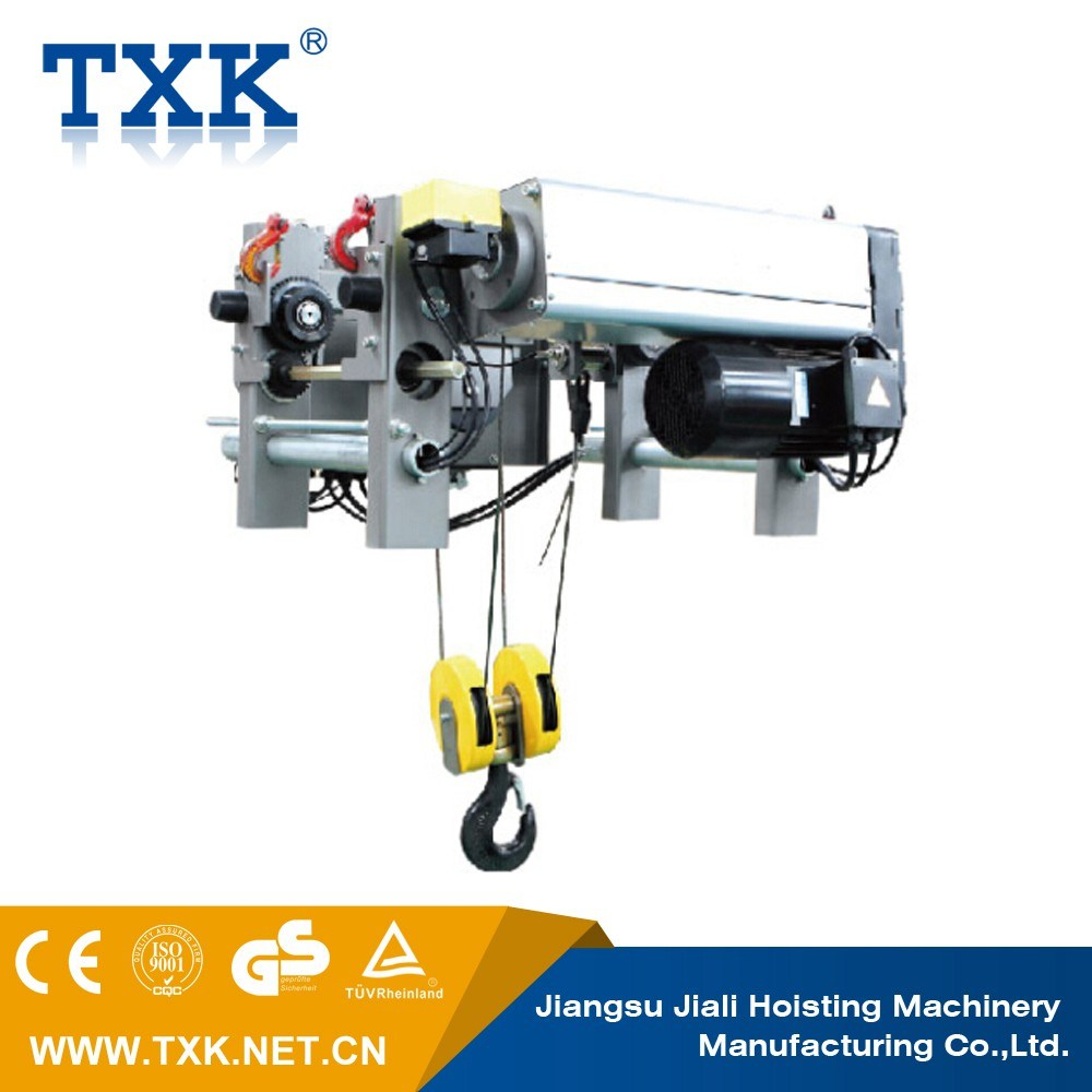 China 7.5 Ton Low Headroom Wire Rope Hoist with Ce Certification ...