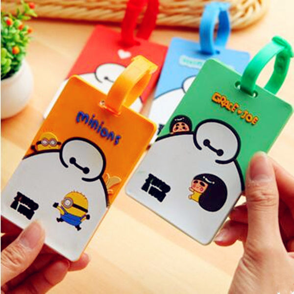Fashion Waterproof Soft Silicone Personalized Luggage Tag pictures & photos