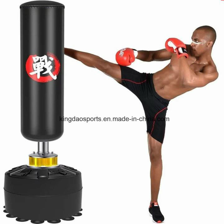 Free Standing Boxing Punch Bag Heavy Heavy Duty Gym Training Martial Arts 170cm