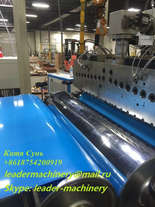 PP PS PE Pet PMMA EVA Plastic Sheets Extrusion Machinery, Extruder Line pictures & photos