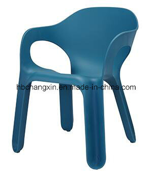 Colorful Dining Stackable Plastic Chairs