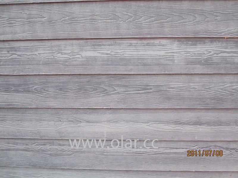 China Wood Grain Fiber Cement Wall Cladding China