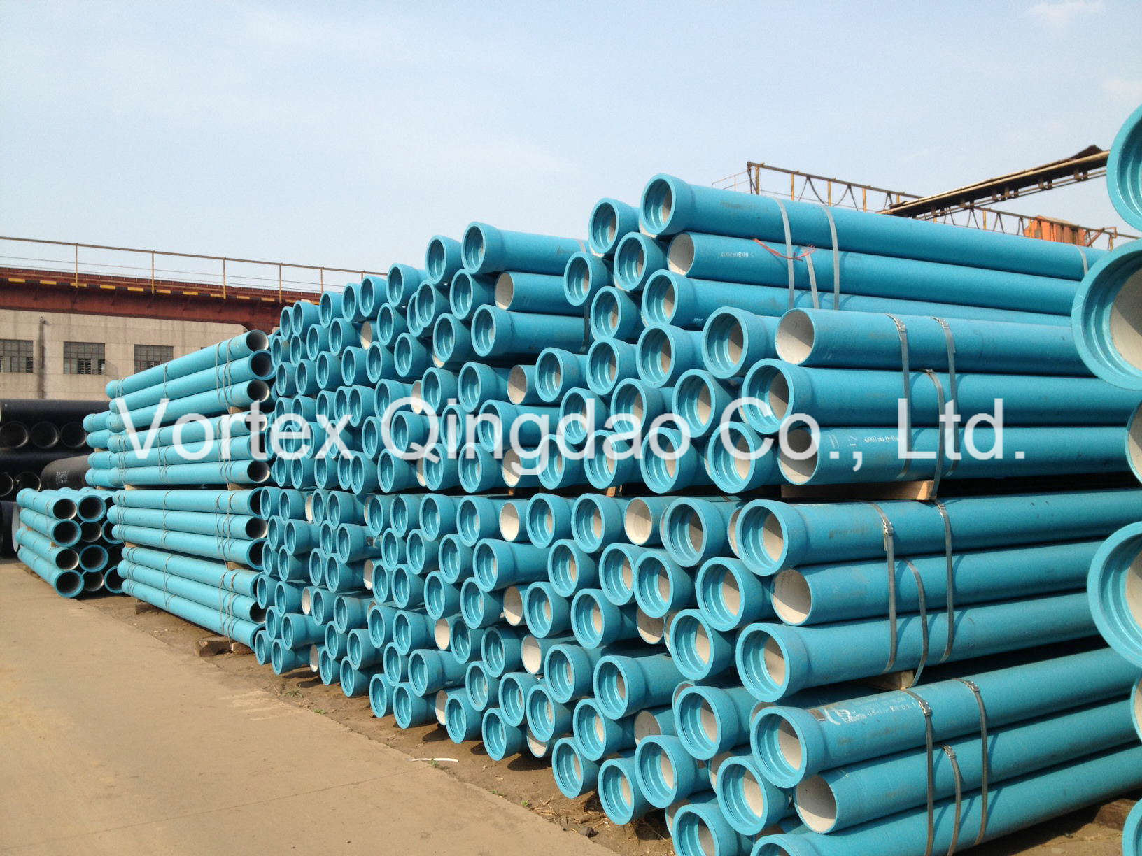 China En545 Ductile Cast Iron Pipe Photos & Pictures - Made-in-china.com