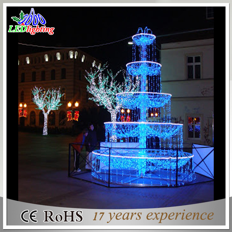 China CE/RoHS Blue LED Fairy Christmas Outdoor Docoration Fountain Lights -  China Christmas Outdoor Lights, LED Fairy Light - China CE/RoHS Blue LED Fairy Christmas Outdoor Docoration Fountain
