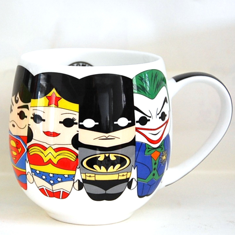 Wholesale Printed Coffee Mug Personalized Mugs with Superheroes pictures & photos