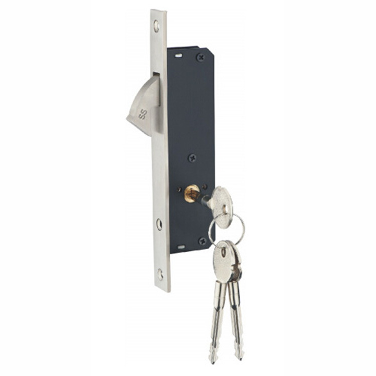China Stainless Steel Hook Cabinet Sliding Door Lock With Key China Door Lock With Key Lock With Key