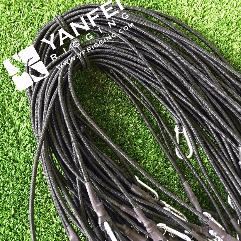 Elastic Bungee Cords with Galvanized Snap Hook and Eyelet pictures & photos