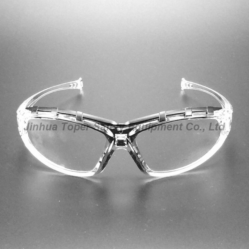 Sport Type Clear Polycarbonate Lens Safety Eyewear (SG117) pictures & photos