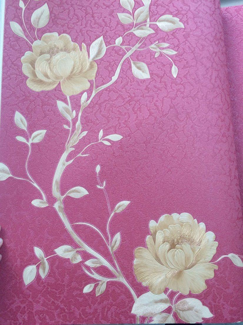 China Pvc Wallpaperbig Flower Design Wallpaper3d Wall Paper For