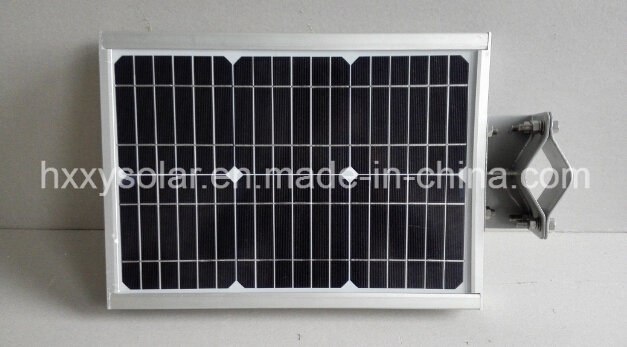 Solar Street Light Integrated All in One Type with Li Battery High Efficient Mono Solar Panel