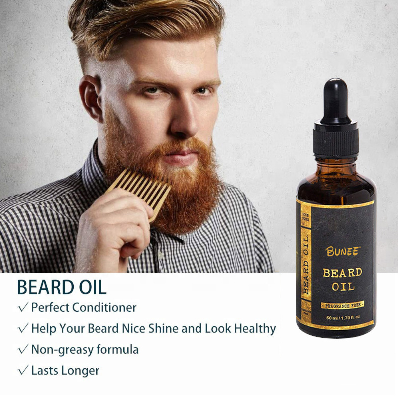 China 50ml Natural Beard Essence Brush Nourishing Beard ...