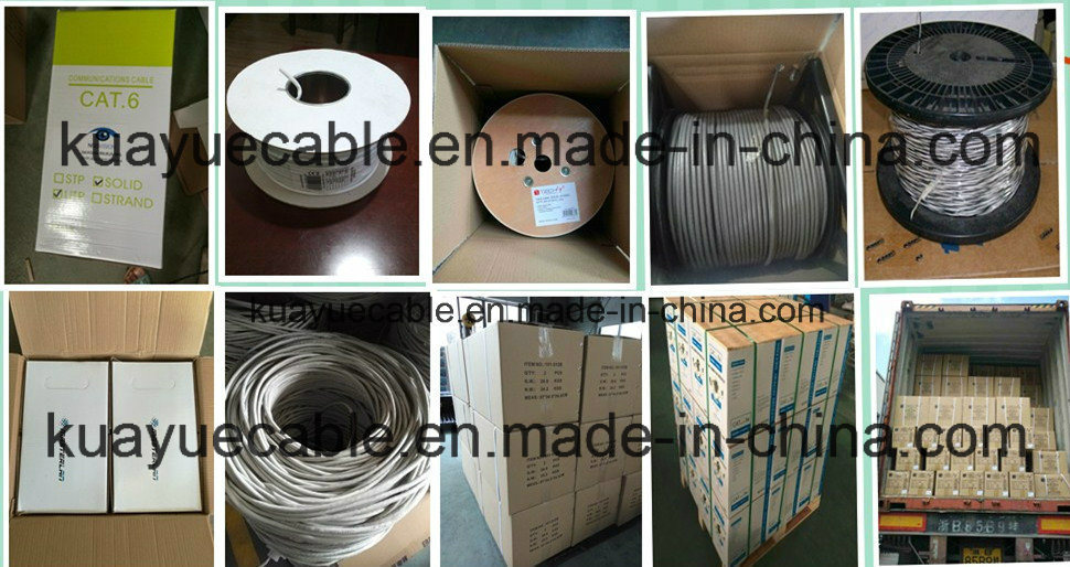 4 Pair SFTP Cat5e Cable/Computer Cable/Data Cable/Communication Cable/Audio Cable/Connector pictures & photos