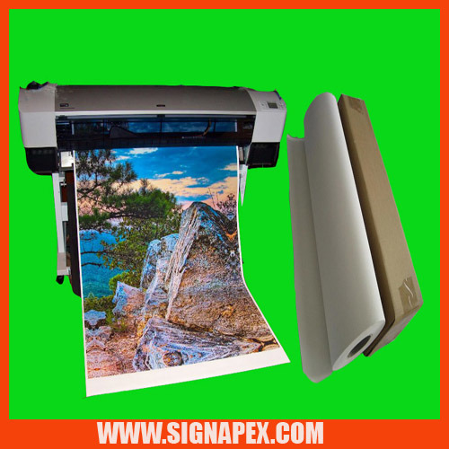 High Quality Large Format Digital Printing Inkjet Canvas/Pure Cotton Canvas (SCC250)