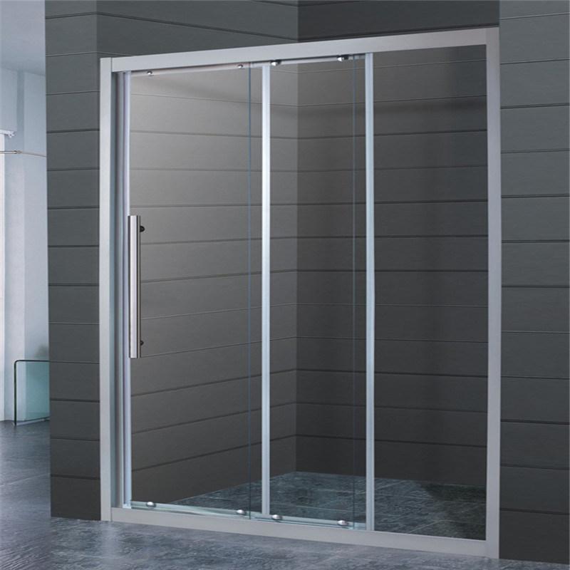 China Bathroom Glass Partition Shower Door Glass Glass Door