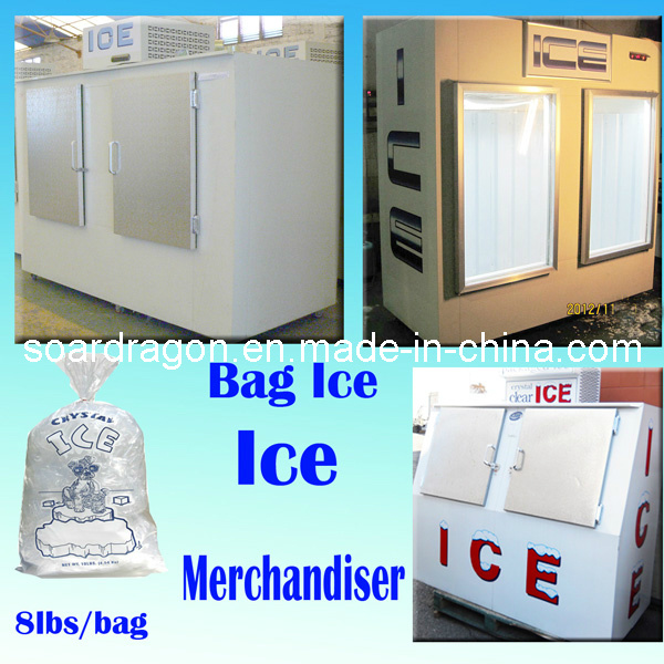 Ice Merchandiser for Indoor & Outdoor Using (WGL-850)