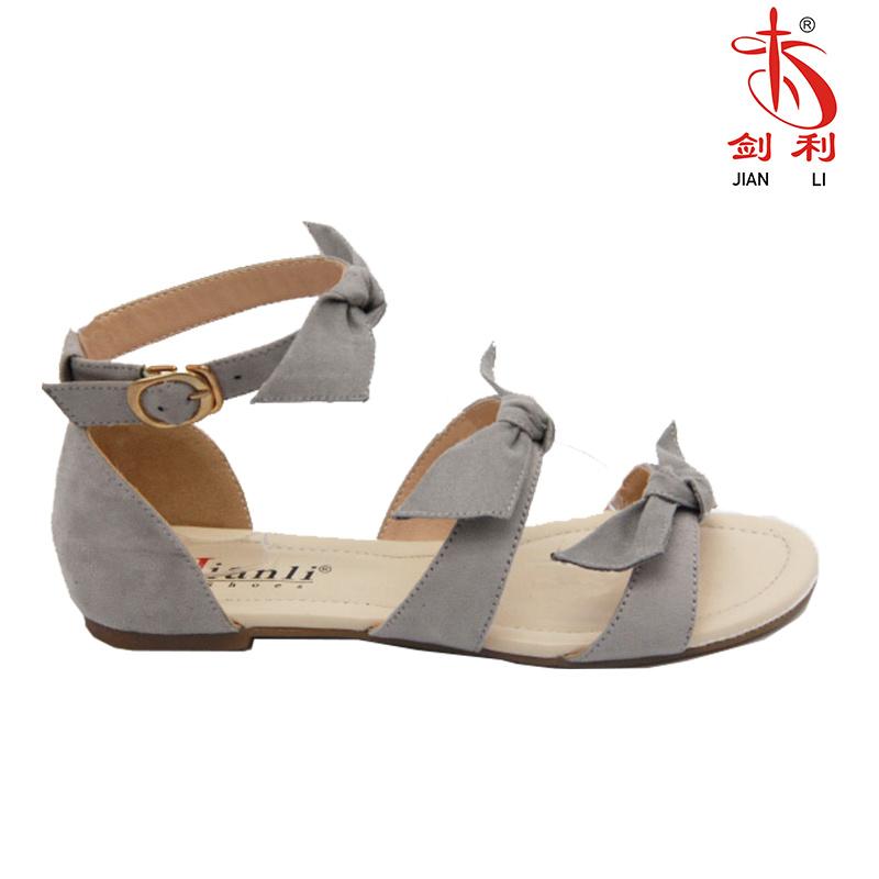 caac3cad7297 China 2018 Women Bowknot Flat Sandal for Fashion Lady (FSA 104) - China Women  Sandal