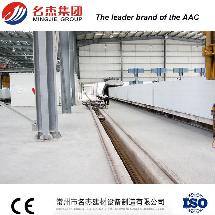 China AAC Blocks Machinery (AAC, Aerated Autoclaved