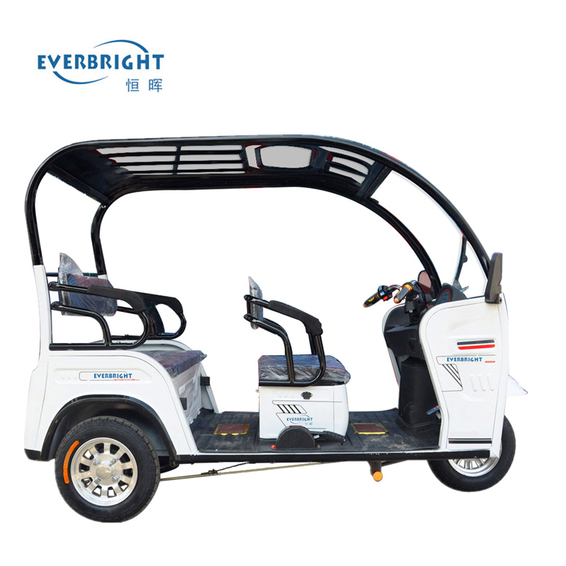 China 650W/800W Rickshaw, Electric Three Wheel Passenger Tricycle pictures & photos