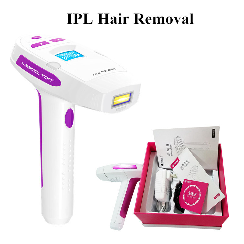 China 2in1 Ipl Permanent Laser Epilator Whole Body Hair Removal