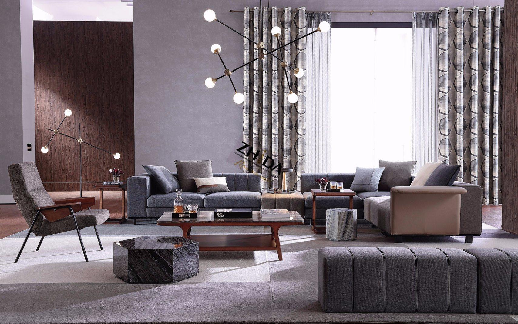 Best Selling Modern Home Living Room Furniture (Zhida)