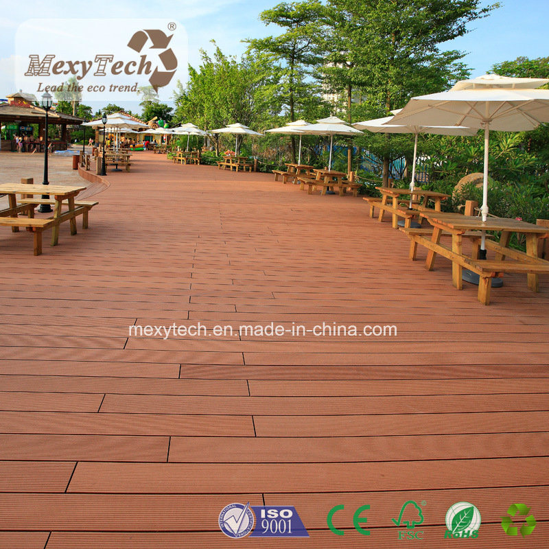 Hot Sale Wooden Flooring Wood Plastic Composite WPC Decking pictures & photos
