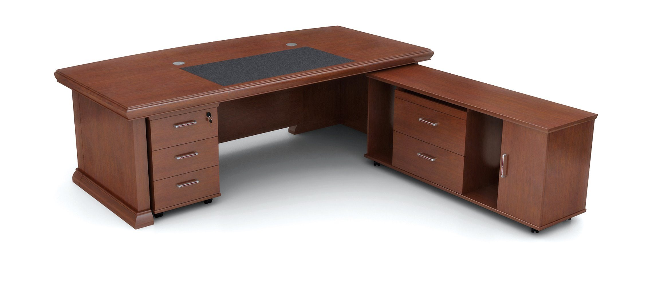 China Wood Office Furniture Executive Desk Director Computer For Boss Table