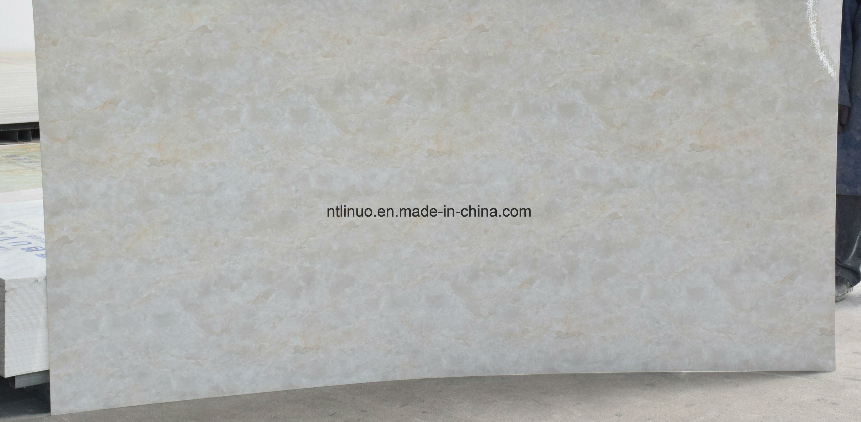High Glossy Uv Coated Marble Texture Board, Pvc Wall Panel