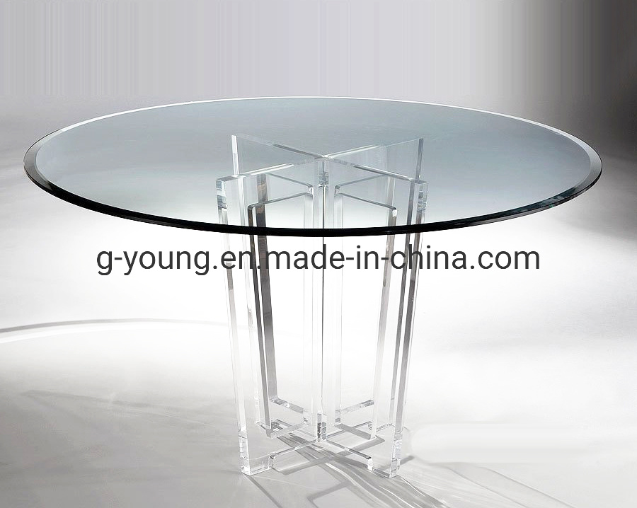China Victoria Acrylic Round Dining Table For Home And Restaurant Photos Pictures Made In China Com