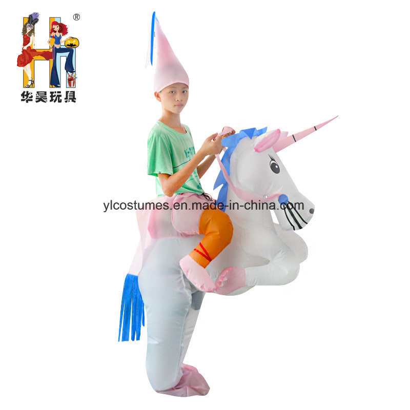 Carnival Party Inflatable Unicorn Costume Adult Carry on Animal Costume  sc 1 st  Yiwu Yelong Costumes Factory & China Carnival Party Inflatable Unicorn Costume Adult Carry on ...